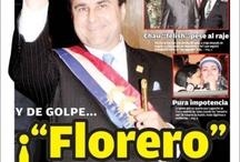 Tapas: Crisis política y nuevo gobierno en Paraguay / by Romina Cáceres Morales
