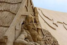 Sand Sculptures / by Sandra Hozey