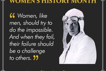 International Women's History Month / We at LivingSocial feel it's important to pay homage to the women who helped shape history. Some of our favourite role models are humanitarians, others our chemists or athletes, but what they all have in common is that they had a vision that made them propel society forward and a spirit that would not give in at the face of adversity. Please enjoy our small contribution to celebrate women in history. / by LivingSocial UK and Ireland