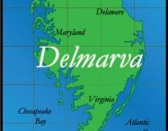 Del-Mar-Va-lous! / The Delmarva Peninsula sits in the Mid-Atlanic region of the United States between the Chesapeake Bay to its west and the Delaware Bay and Atlantic Ocean to its East. The three states its name was formed from are Delaware, Maryland and Virginia. / by Cyndi Deimler