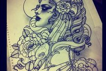 ideas for tattoos / by naomi fabre