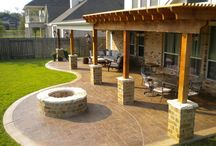 Outdoor ideas / ideas for the back yard / by Melody Arnold