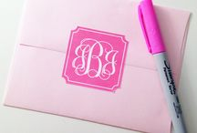 monograms / by Theresa Bauer