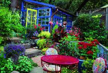 Garden Spaces / by Kathy Dietkus
