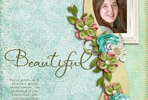 scrapbooking ideas and layouts / Sometimes I save a pin because of the colors used, or the simplicity of the layout, or because of how many photos were on the page.  I love scrapbooking! / by Mary Wade