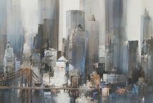 Art School: Contemporary Artists / by Liz Nelums