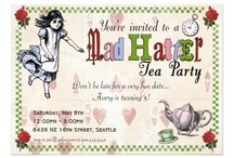 Party Invites / by June Fleming