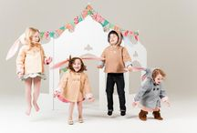 Little Goodall Childrenswear Collection Spring 2014 /  Thoughtful details such as hidden pockets, matching bloomers and playshorts, adjustable closures, and machine washable fabrics are present throughout the line. All our dresses and sun suits are, like our coats, handmade with love in Texas.   I cherish memories of specific summer dresses which made me feel magical as a little girl, and these memories were my inspiration for this collection. I hope you will find something you love!  / by Little Goodall
