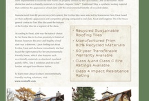 Product Brochures / by EcoStar LLC, Sustainable Roofing