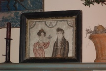 Watercolor~Folkart~Early Paintings / by The Keeping Room