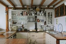 kitchen storage and decor / ideas I want to implement into my 1928 kitchen with original sink and cabinets. / by Jonelle Maira
