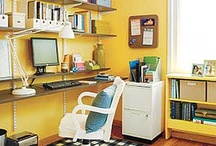 Home Office Inspiration / by Mindy Warden