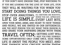 words / by Debbie Reynolds