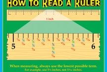 Math Measurement / by Alida R