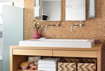 Family bathroom update / by Heather O'Leary