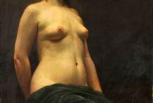 Epic paintings : Bouguereau, Waterhouse, Mucha, Gérôme, Klimt, Schele... / by يسر Yosr