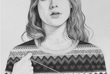 ♥ Illu & Art  / by Jenna Haugmard