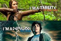 Percy jackson, harry potter, and the hunger games / by Autumn Newell