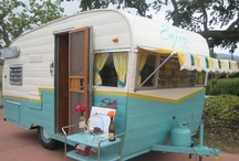 vintage trailer and some glamping / I cannot wait to get my trailer, girl it up and use some of these fab glamping recipes !!!! / by Adrieanna Dodson