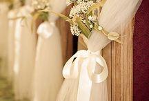 wedding ceremony decor / by Susan Strom