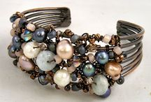 a wire jewelry collection / wire jewelry ideas / by Cathy Haynes