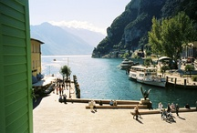 Lago di Garda / and nearby villages. / by Donnetta Murray