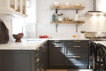 Interiors: Kitchen Features / Interesting features for today's kitchens / by Kristine Wasner Hershberger
