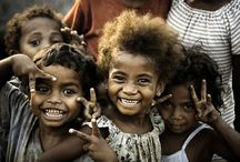 """Children of the world / """"The soul is healed by being with children."""" / by Julia Jones"""