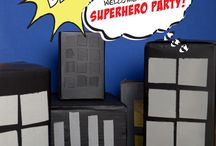 superhero party / by Amber Alcedo