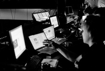 Behind the scenes - DNB work / Global live streaming on conference for DNB´s CMD. 4 cam live broadcast in the Norwegian Opera House. Director Daniel Sandnes. Executive producer Olav Mellingsater. / by Olav Mellingsater