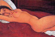 ARTIST : Amedeo Modigliani  / by Shelly Zeiden