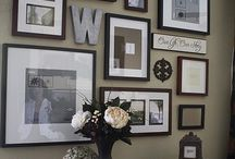 Wall Display Ideas / A few ideas to get you started on printing your SMP files. Don't let them sit in your desk drawer - show them off in your home! / by Molly Denson Wantland