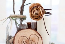 Wedding crafts -centerpieces / I wanna make these ! DIY craft nights!  / by Tracy Dotter