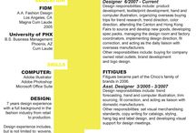 Resume Design / by Noland // High Five Media
