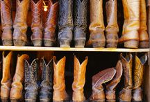Country Girl's boots obsession / Every type of boot, shoe or sandal that I would love to someday own ;-) / by Brittany Stone