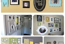 Wall Decor inspiration / by I'm A Silly Mami