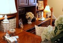 Home office work space / by Jill Burgoyne