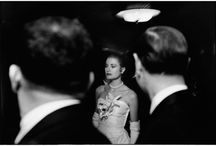 """ELLIOT ERWITT / """"To me, photography is an art of observation. It's about finding something interesting in an ordinary place… I've found it has little to do with the things you see and everything to do with the way you see them."""" — Elliot Erwitt / by a lady with a cat"""