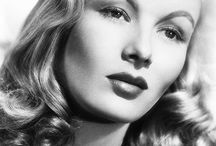 Veronica Lake in b&w / by Maite Pascual