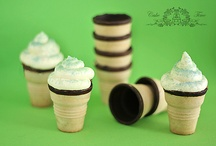 Ice Cream Cone Ideas / by Pinrat