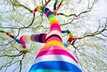 Best of Yarn Bombing / The very best of yarn bombing around the world. Knitters rule.  / by Creativebug