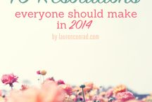 New year- new you! / by Leana Corry