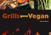 Grills Gone Vegan / The Great American Cookout! Live Chat June 27 & Photo Contest June 28 to July 8.  Tami will host a Photo Contest (June 28-July 8) via Pinterest, Twitter and Instragam, all you have to do is share your grilling adventures and cookout photos using hashtag #grillsgonevegan. See Contest Details Here: http://bit.ly/14ZL6N1 What to add your own grilling photo? email us your pinterest username at marketing@veganmainstream.com / by Vegan Mainstream