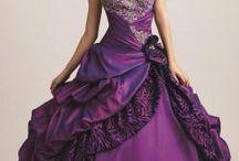 Pretty purple dresses / by Nancy Violette
