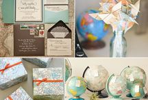 Globe and Map Love! / by Shelley Haganman (a flair for buttons)