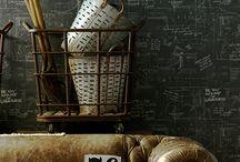chalkboard walls / by Melaine Bennett Thompson