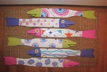 painted fish,crafts / by Jan Stout