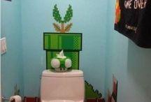 Super Mario Bathroom / by Michelle