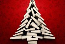 Book Trees (Christmas) / Christmas Trees from books / by Sarah Garman