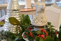 Friends of BNOTP: Christmas Tablescapes / This board is dedicated to the friends of Between Naps on the Porch who love everything about setting a beautiful table for Christmas. Please pin no more than 2 pics of  each table for us to enjoy! Only family friendly posts about Christmas tablescapes and centerpiece ideas please! / by Between Naps On the Porch